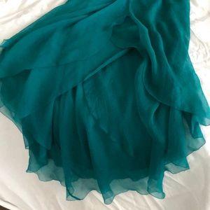 Catherine malandrino silk dress!